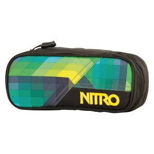 pencilcase geogreen front 300x300 - NITRO PENCIL CASE