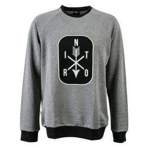 sweater arrows lightheathergrey 300x300 - BLUZA NITRO ARROWS